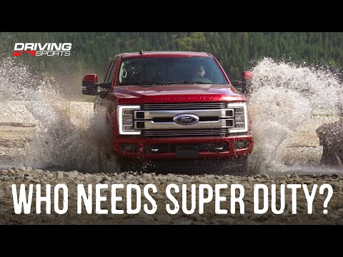 Ford Super Duty F-350 4x4 FX4 Limited Reviewed - Who Needs This?