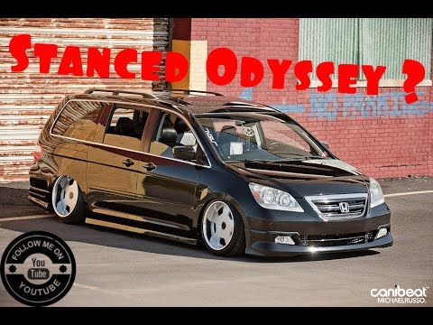 showing  insanely stock super plain honda odyssey vtec kicked  yo   stanced minivan