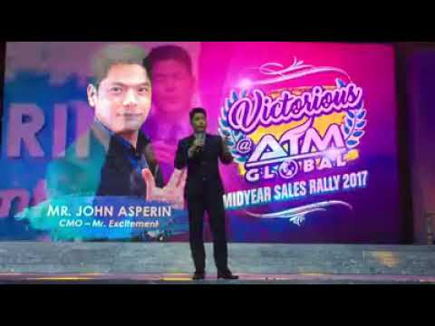 Victorious at AIM Global Mid-Year Rally! CMO/'Mr. Excitement, Mr. John Asperin!