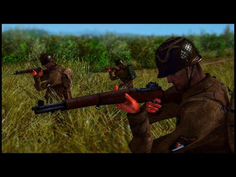 US Airborne Battle SS in Normandy 1944! Totaler Krieg Mod |