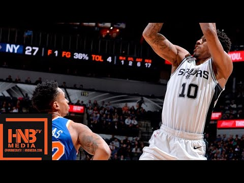 San Antonio Spurs vs New York Knicks Full Game Highlights | March 15, 2018-19 NBA Season