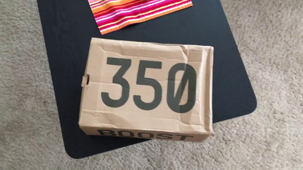 6c3a3886423 Yeezy 350 v2 new colorway unboxing - RAREST SAMPLE - YouTube