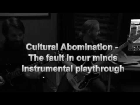 Cultural Abomination - The fault in our minds (instrumental playthrough) Mp3