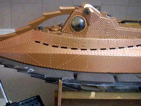 Engel Disney Nautilus RC Submarine on Ebay item no  320319317281
