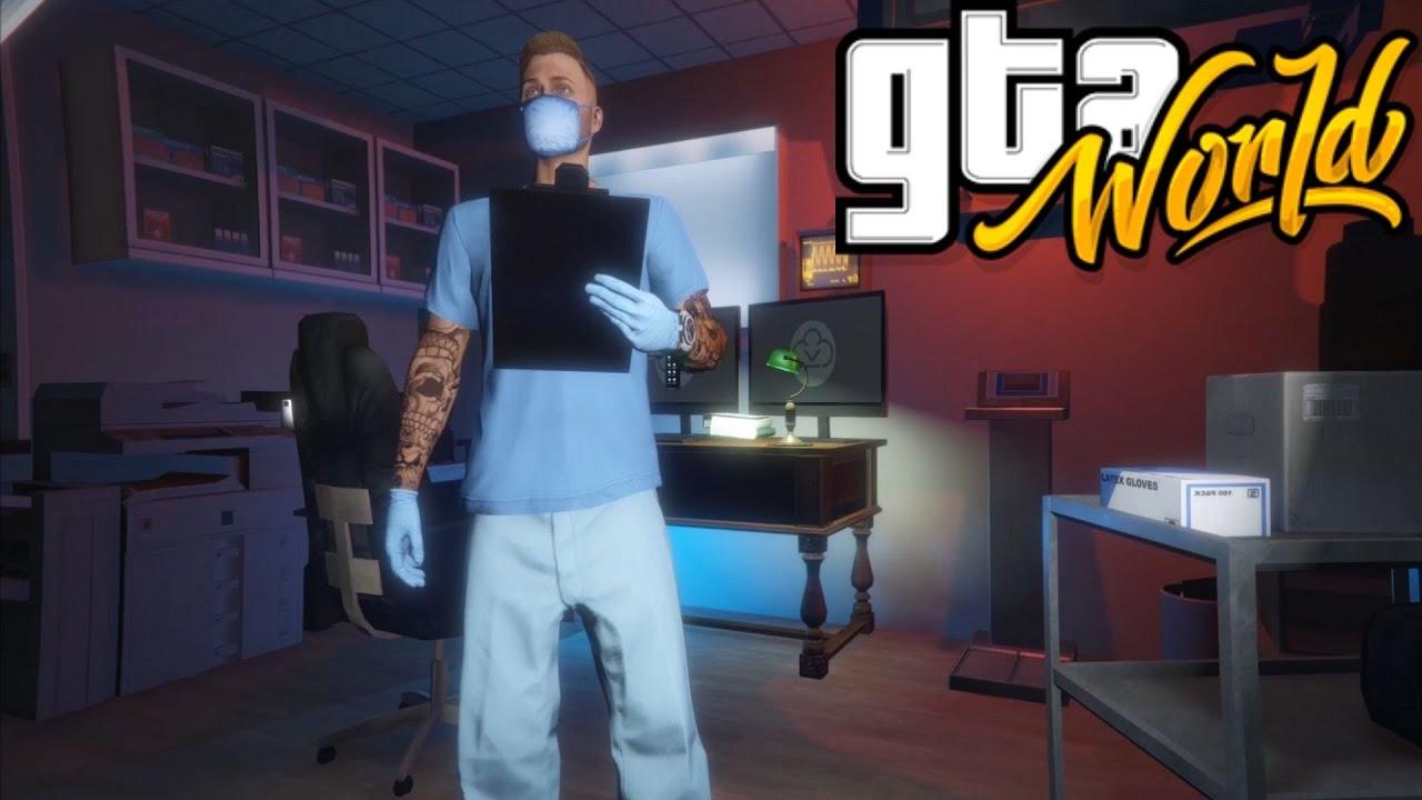 GTA:WORLD | The Dentist | GTA V RP