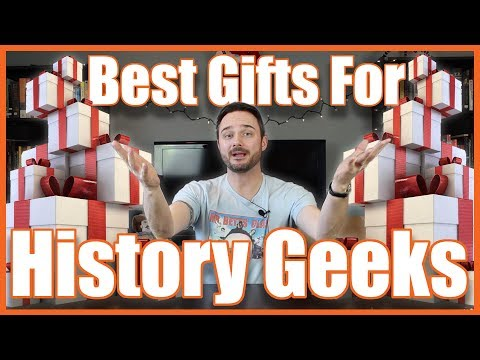 Best Gifts for History Geeks 2017!