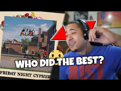Big Sean - Friday Night Cypher (Detroit 2) || REACTION