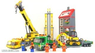 LEGO City Construction Site set 7633 review!