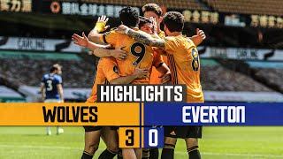 JIMENEZ, DENDONCKER AND JOTA ON TARGET! | Wolves 3-0 Everton | Highlights