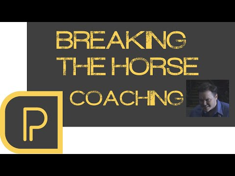 Breaking the Wild Horse; Coaching SirActionSlacks