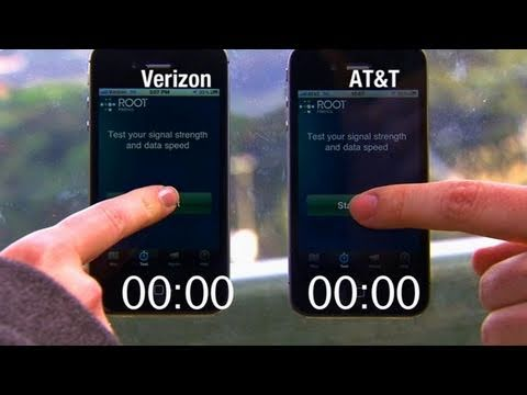 Battle of the networks: The iPhone on AT&T and Verizon