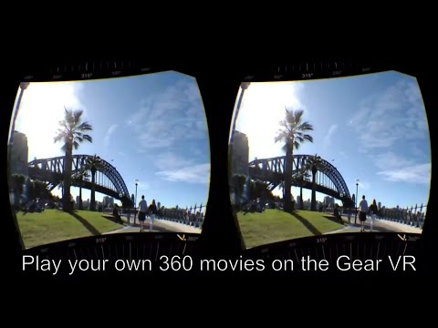 How To Load and Play Your Own 360 Videos in the Samsung Gear VR