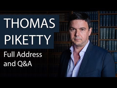 Prof Thomas Piketty   Full Address and Q&A   Oxford Union