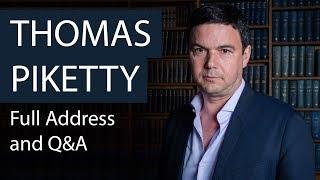 Prof Thomas Piketty | Full Address and Q&A | Oxford Union