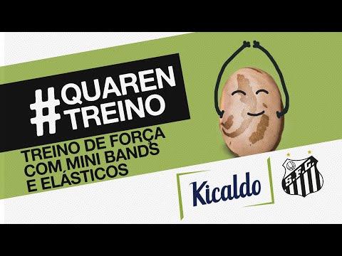TREINO COM MINI BAND E ELÁSTICO | #QUARENTREINO KICALDO