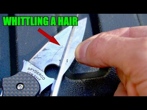 FASTEST WAY TO A SCARY SHARP KNIFE