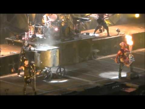 Rammstein - 2012 North America Tour - Anaheim CA