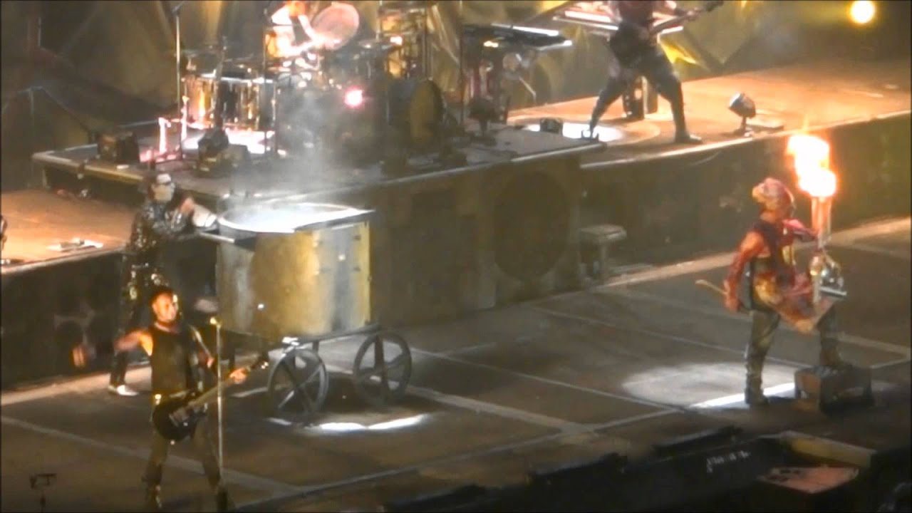 rammstein 2012 north america tour anaheim ca youtube. Black Bedroom Furniture Sets. Home Design Ideas