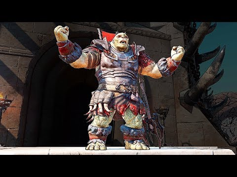 SHADOW OF WAR - UNIQUE BACKBITER COMMANDER OVERLORD DIFFICULTY NEMESIS IN DESERT