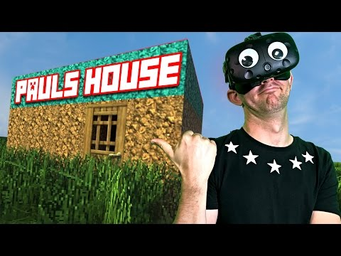 WHO&39;S HOUSE IS BETTER?  Minecraft Mixed Reality Ep 5