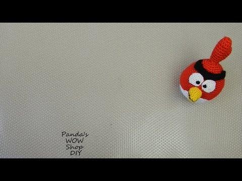 МК ★ Angry birds ★ Red ★ Вязание крючком ★ Часть 1