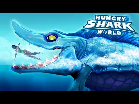 MOSASAUR IS BACK!!! Mr.Snappy - Hungry Shark World | Ep 55 HD