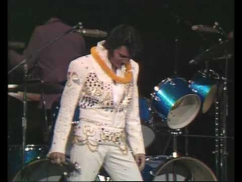 Elvis Presley 'Steamroller Blues' 1973