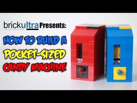 Goodblock Candy Vending Machine Custom LEGO Mr