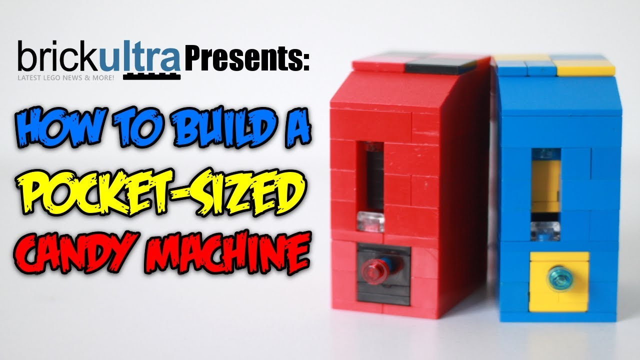 How To Build A Vending Machine Out Of Legos