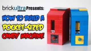 How to Build a MiNi Lego Candy Machine Pocket Sized