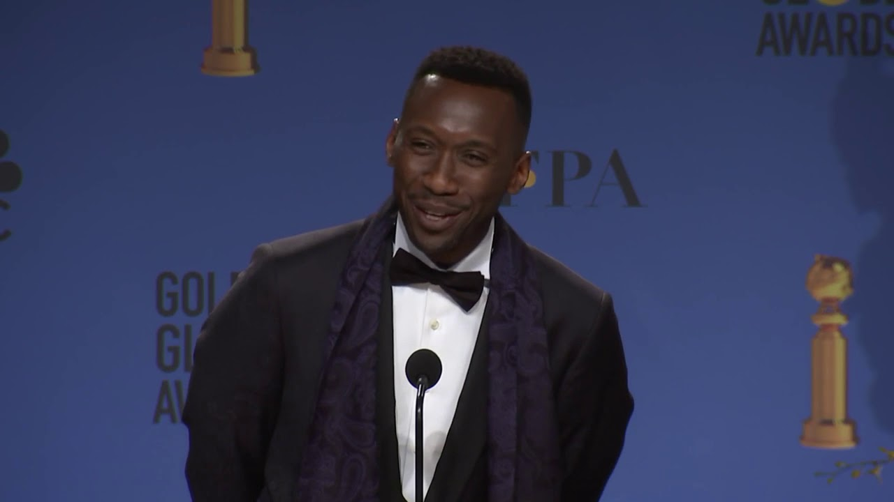 Mahershala Ali - Backstage Interview 2019 Golden Globes