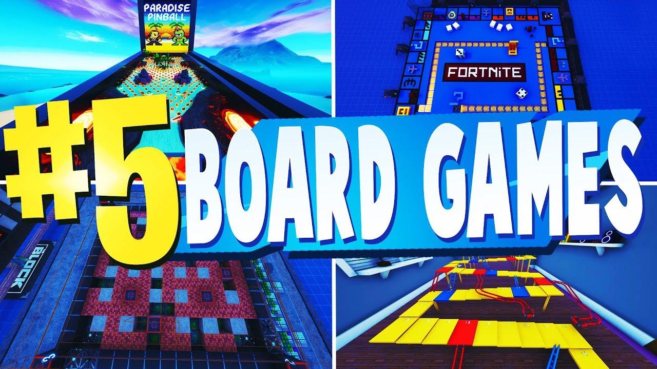 Top 5 Best Board Games Creative Maps In Fortnite Fortnite Board Game Map Codes