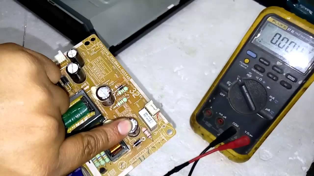 Como reparar una fuente de pantalla samsung un32eh4003 for Reparar pantalla televisor samsung