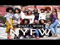 NEW YORK FASHION WEEK VLOG + What I Wore