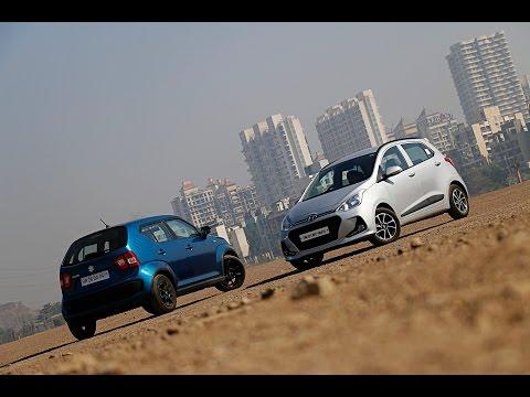 Maruti Ignis vs Hyundai Grand i10 | Comparison Review | ZigWheels