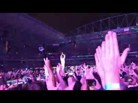 Coldplay Melbourne 2016 Paradise Rock