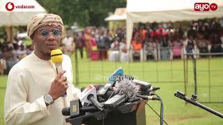 'Niko harusini ila nimeguswa na msiba wa Masogange nimeamua Kuja'