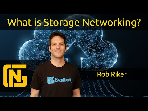 What Is Storage Networking?