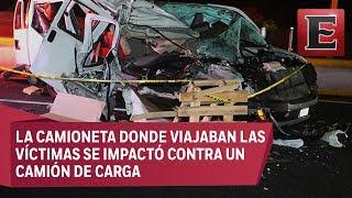 LO ÚLTIMO: Muere la actriz Maru Dueñas y productor en accidente vial en la México-Cuernavaca thumbnail