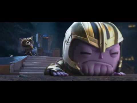 Thanos Vs Thor's Rabbit Funko Pop