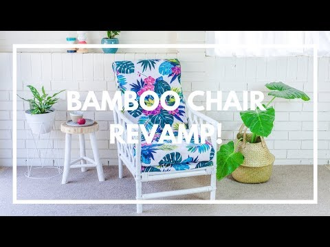 How To Revamp A Cane Bamboo Chair