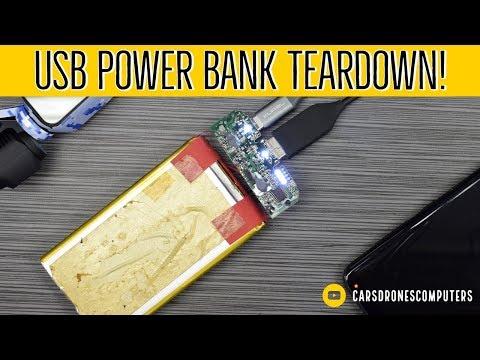 USB Power Bank Teardown