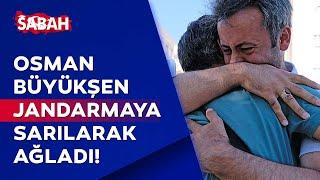 Duygu dolu anlar! Osman Büyükşen, cinayeti araştıran özel ekipteki jandarmaya sa