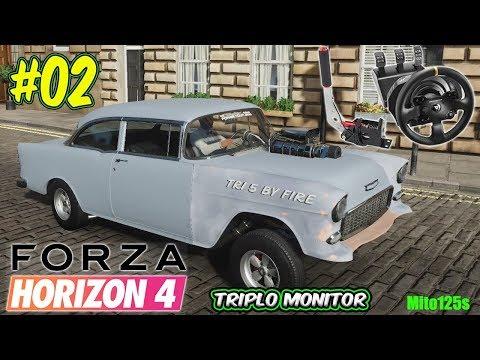 Forza Horizon 4 Drift #02 Questa si che drifta + Triplo Monitor + Thrustmaster Tx thumbnail