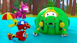 Животные Механика | EP10: Rex Gos Pop! | Мультфильмы для малышей | WildBrain