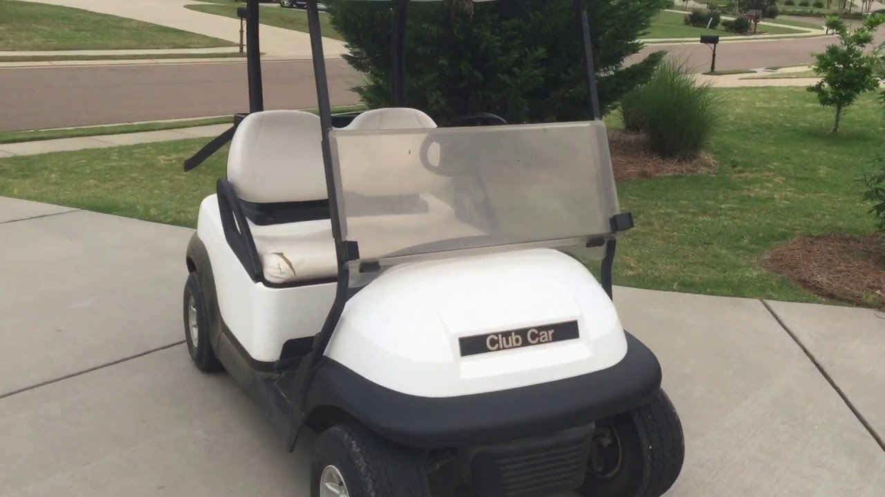 my new 2010 club car precedent