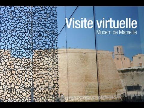Visite virtuelle larchitecture du mucem de marseille