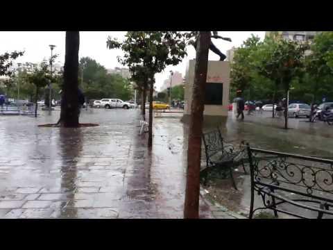 Rain in Tirana