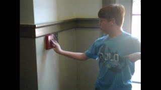 kid presses fire alarm button as a joke, this happens next...