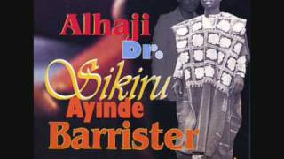 Dr Sikiru Ayinde barrister - Aiye 1